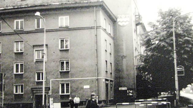 Snímek z druhé poloviny sedmdesátých let minulého století.