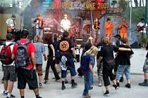 PUNK AND CORE FEST v rámci projektu Culture Zone, který se konal v sobotu v amfiteátru FK František Horní Suchá, přilákal nejvíce návštěvníků.