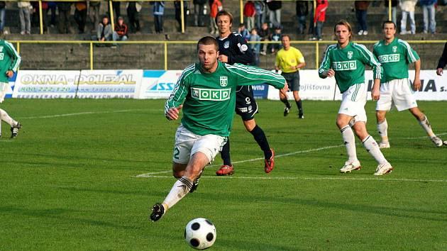 David Sourada v Olomouci vytvořil útočnou dvojici s Filipem Juroszkem.