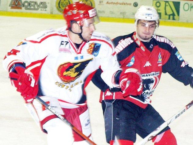 Hokejisté Havířova zaznamenali v domácím prostředí krutou porážku od zachraňujícího se Prostějova, když vstřelili pouze jeden gól.