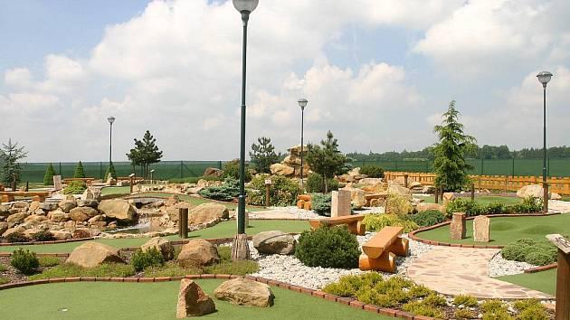Také Bohumín bude golfový. Bude mít tzv. adventure golf.