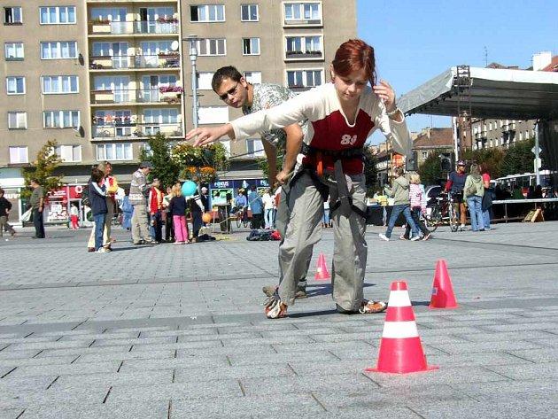 V průběhu víkendového programu Dne bez aut a Běhu Terryho Foxe byly pro děti připraveny atraktivní ukázky a soutěže.