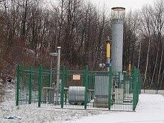 Tato stanice hlídá hodnoty metanu unikající z orlovského podzemí.