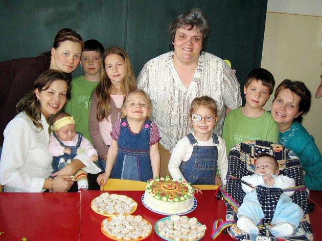 Mateřské a rodinné centrum Sluníčko oslavilo první výročí své existence.