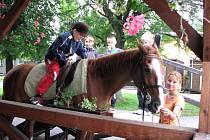 Děti navštívily jízdárnu v Prostřední Suché - Pašůvce.