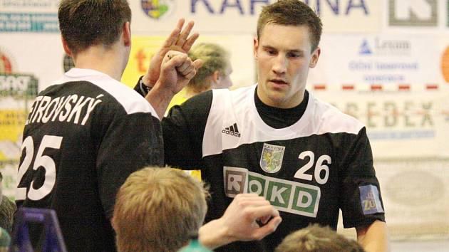 Viktor Hastík (č. 26) a jeho kamarádi z Baníku jsou znovu ve finále!