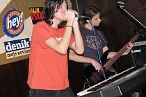 Radegast Líheň 2009 pokračuje. Na snímku havířovská kapela Progresivní překližka
