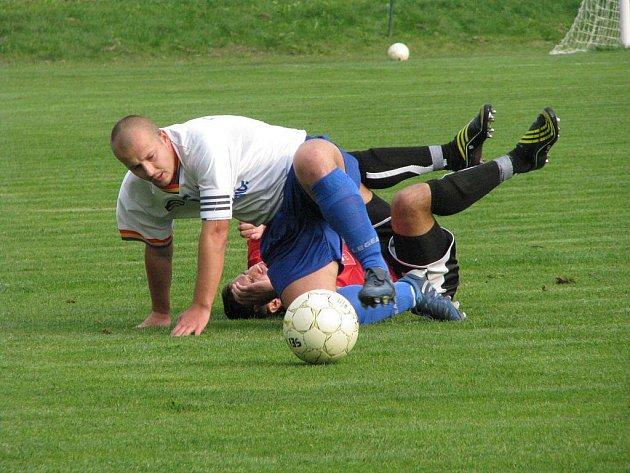 Fotbalisté Albrechtic se pomalu zvedají a stoupají tabulkou.