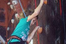 Soutěž v lezení Orlovský orel