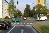 Nehoda na Mánesově ulici