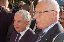 Prezidenti Václav Klaus a Lech Kaczynski