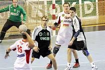 Marek Monczka (číslo 30) vsítil v Novém Veselí vítězný gól juniorky Baníku.