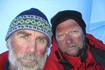 Fotografie z výpravy horolezecké dvojice Milan Pěgřímek a Věslav Chrząszcz
