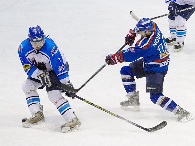 Hokejisté Karviné prohráli ve Valašském Meziříčí a přišli o vítězství v základní části II. ligy.
