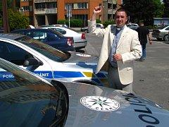 Policejním vozům bylopožehnáno