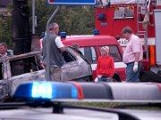 Ve vyhořelém autě na Bludovickém kopci byla nalezena mrtvola