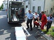 Nehoda na Selské ulici v Havířově