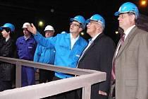 Zástupci havířovského magistrátu prošli provozem ostravských oceláren.