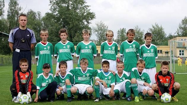 Slušnými výkony se prezentovali na Baumit Cupu malí fotbalisté Karviné. Skončili sedmí.