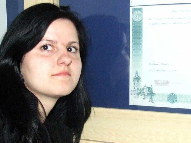 Alena Bilková uspěla na mezinárodní konferenci s projektem, který se zabýval pořádáním rekreací pro rodiny s handicapovanými dětmi.