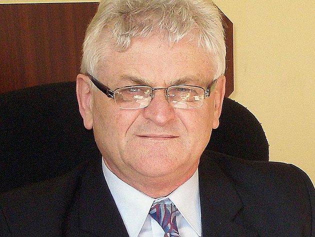 Starosta Dětmarovic Ladislav Rosman.