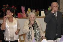 Oslava 100. narozenin Emilie Farné