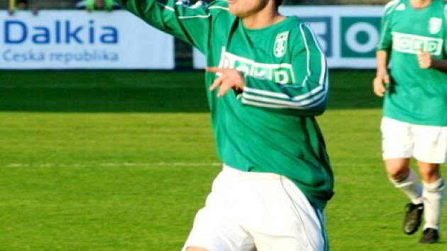Ondřej Ficek, autor vítězného gólu na 2:1.