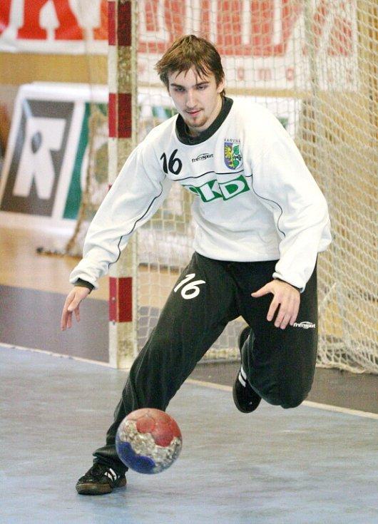 Jan Matuszczyk - gólman juniorky.