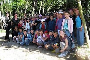 Výprava ZŠ Gorkého za stromy pro Havířov