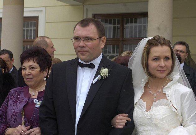 Karvinský primátor Tomáš Hanzel se oženil