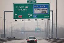 Řidiči nákladních aut trasu z Ostravy do Bohumína moc nevyužívají.