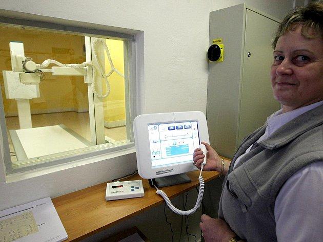 Digitální rentgen. Ilustrační snímek
