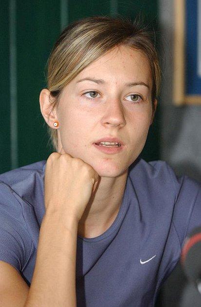 Denisa Rosolová - halová mistryně Evropy.