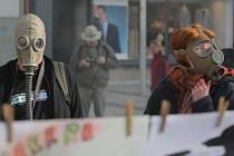V Havířově se v úterý odpoledne koná spanilá jízda v plynových maskách