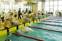 Plavci karvinských Kosatek z řad žáků soutěžili v Letním poháru.