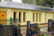 Nové sociální zařízení na hřbitově v Karviné–Mizerově zaplatilo město.