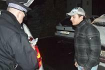 Zadržený motorista po dechové zkoušce, která prokázala, že je střízlivý