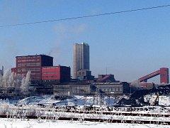 Důlní závod Lazy v Orlové spadající pod Důl Karviná.