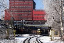 Důlní závod Lazy v Orlové spadající pod Důl Karviná. Ilustrační foto