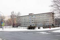 Pohled na budovu v únoru 2012.