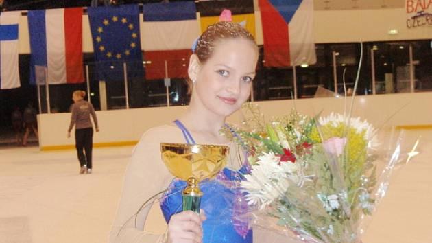 Marie Šidlová se umístila se svými juniorskými kolegyněmi na mezinárodním závodu ve Francii druhá.