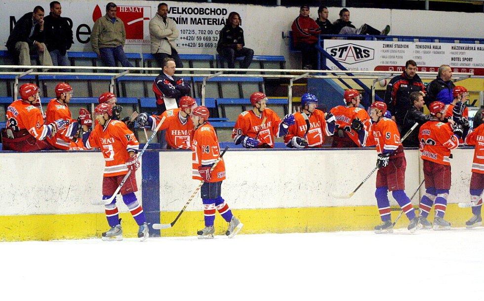 Radost karvinských hokejistů.