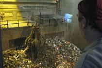 Spalovna odpadu ve vídeňském Spittelau