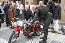 Ukázka historických motocyklů