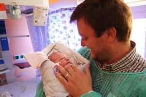 Otec u porodu. Ilustrační snímek