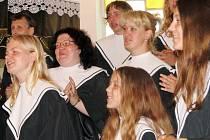 Slavnostní koncert v Evangelickém kostele v Prostřední Suché.