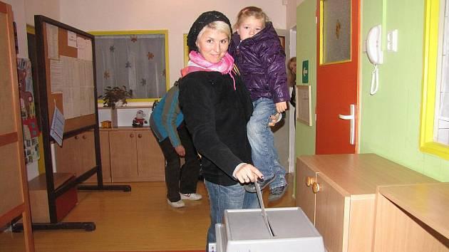 Komunální volby v Havířově. Volební okrsek 43.