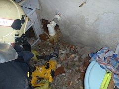 Úspěšná záchrana uvězněného psa v Karviné