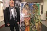 John David Lloyd na vernisáži své výstavy nazvané Detox v květnu 2010 v KD Leoše Janáčka v Havířově.