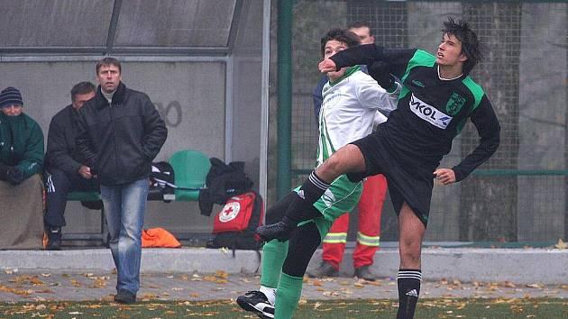 Fotbaloví mládežníci odehráli další kolo svých soutěží.